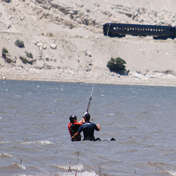 Kiteboarding Instructor Deer Creek Reservoir Utah