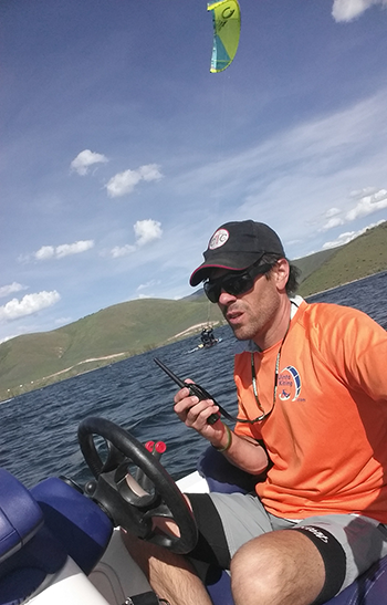 Kite Boarding Deer Creek Reservoir Utah
